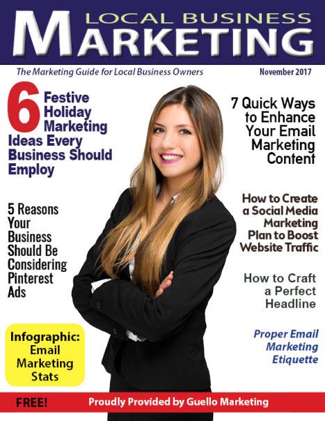 Local Business Marketing Magazine November 2017