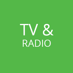 TV and radio | Guello Marketing
