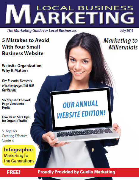 Local Business Marketing Magazine July