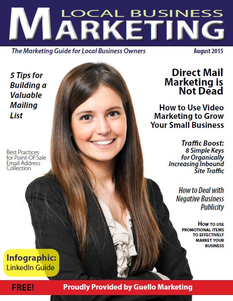 Local Business Marketing Magazine August