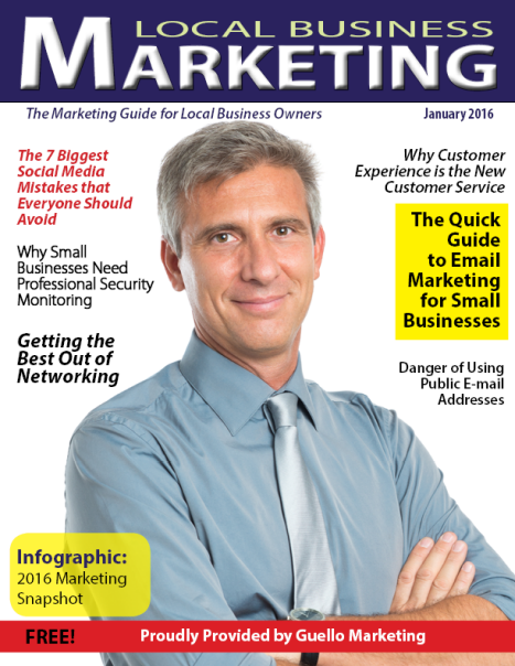 Local Business Marketing Magazine January