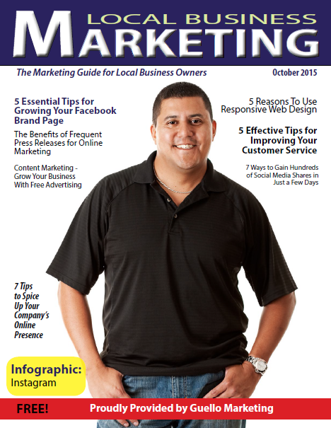 Local Business Marketing Magazine October