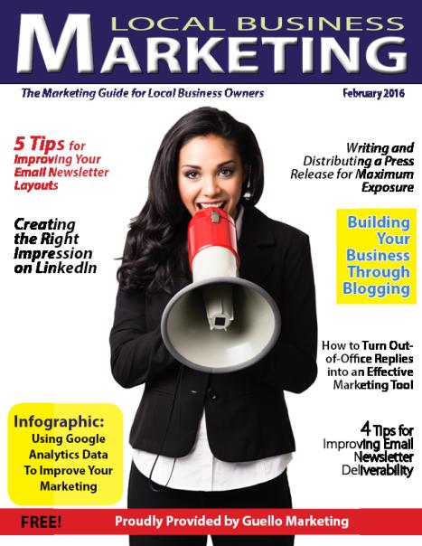 Local Business Marketing Magazine January