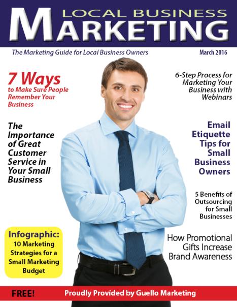 Local Business Marketing Magazine March 2016