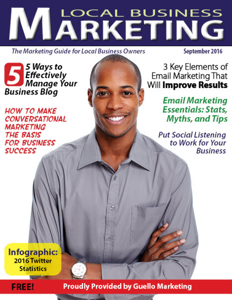 Local Business Marketing Magazine May 2016