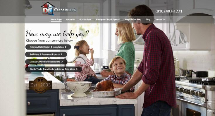 DC Complete Building Company | Guello Marketing