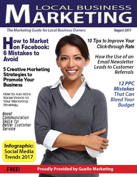 Local Business Marketing Magazine August 2017