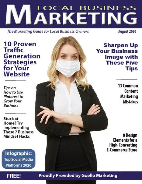 Local Business Marketing Magazine Aug 2020