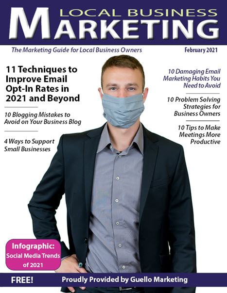 Local Business Marketing Magazine February 2021