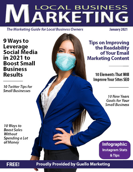 Local Business Marketing Magazine January 2021