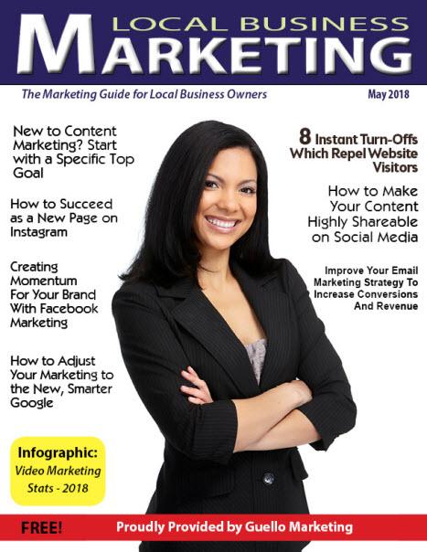 Local Business Marketing Magazine May 2018