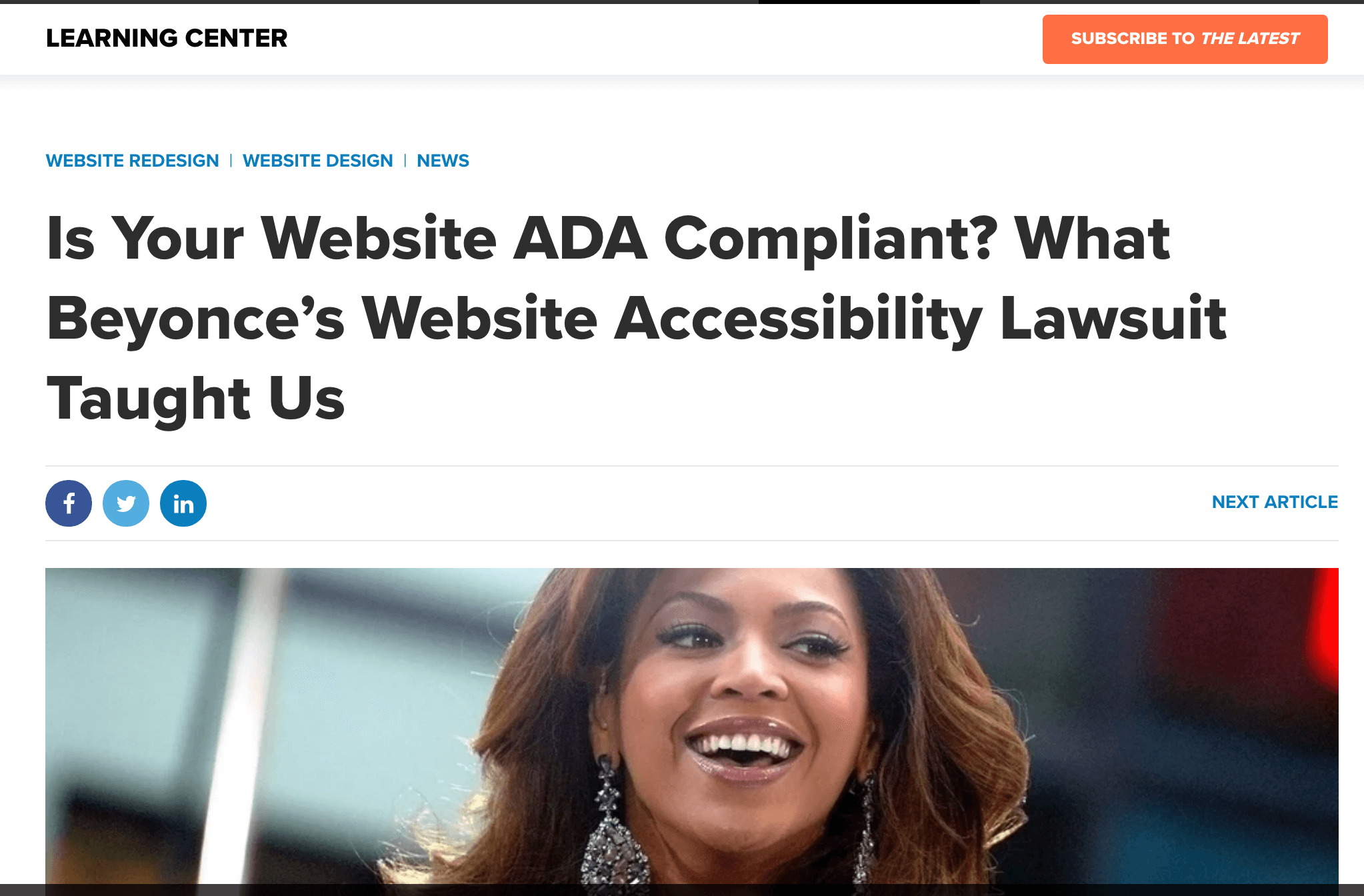 ADA Compliance Service